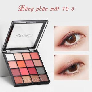 Bảng phấn mắt Lameila 16 màu long lanh siêu đẹp bảng màu mắt phấn trang điểm mắt nội địa Trung TK-PM092 thumbnail