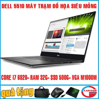 Dell Precision M5510 - tuyệt phẩm đồ họa siêu mỏng nhẹ - dòng siêu cao cấp hạng siêu sang utrabook víp thumbnail