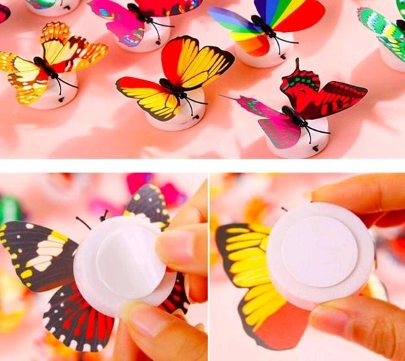 Phụ kiện chụp ảnh đèn LED bươm bướm dùng pin