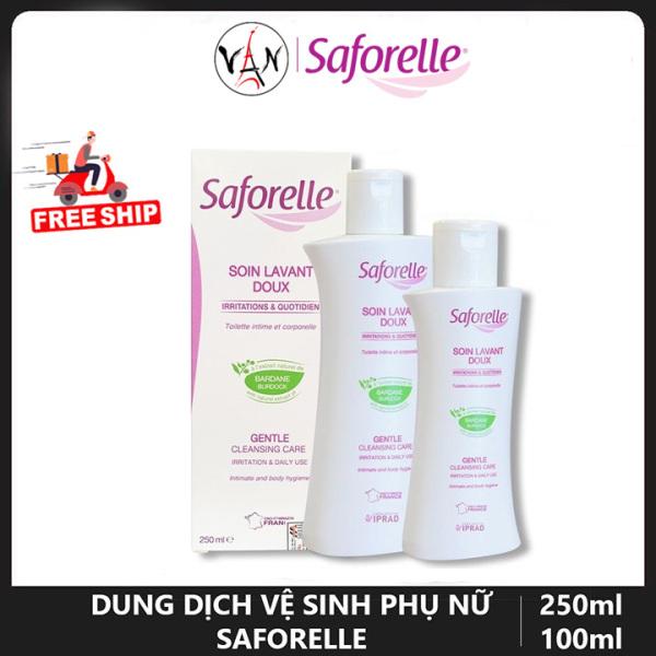 [Tem chính hãng] Dung dịch vệ sinh phụ nữ Saforelle dành cho da nhạy cảm dễ kích ứng