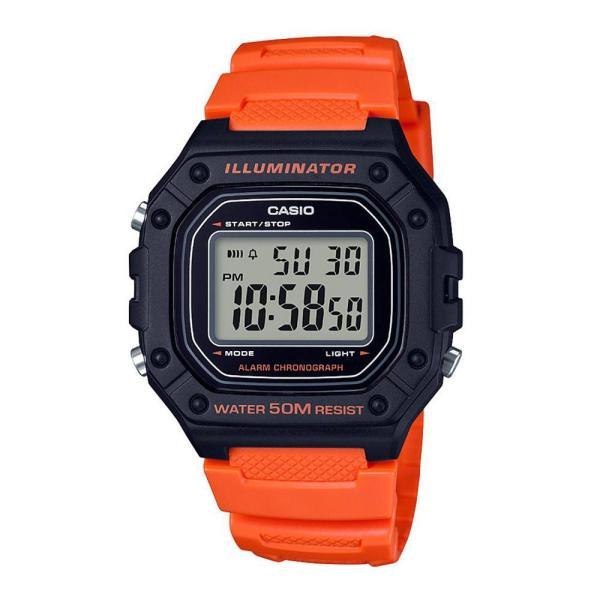 Nơi bán Đồng hồ nam Casio W-218H-4B2VDF dây cao su thể thao