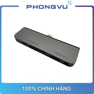 Bộ chia Hub Hyperdrive 6 in 1 HDMI 4K 60Hz USB-C Hub (HD319B) - Bảo hành 24 tháng thumbnail