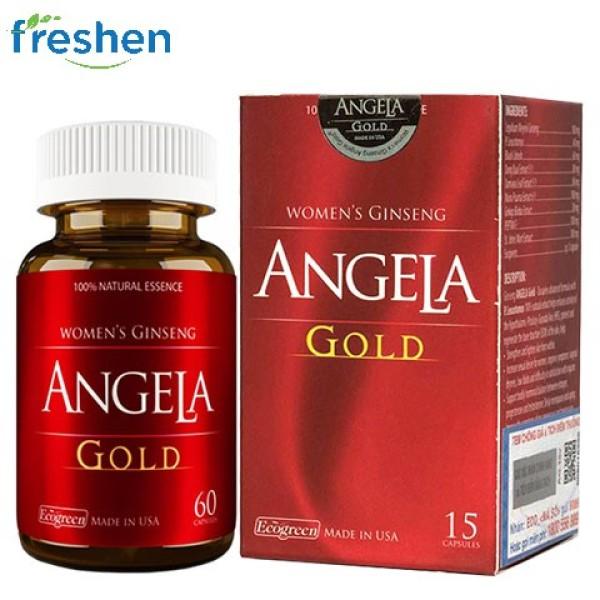 Sâm Angela Gold hộp 30 viên giá rẻ