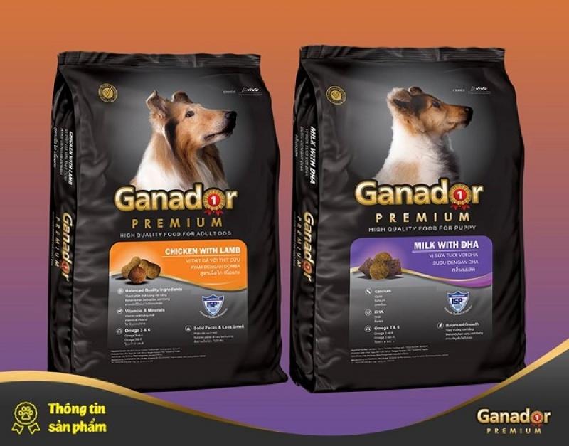 Thức Ăn Cho Chó Nhỏ Và Chó Lớn - Ganador 400gr