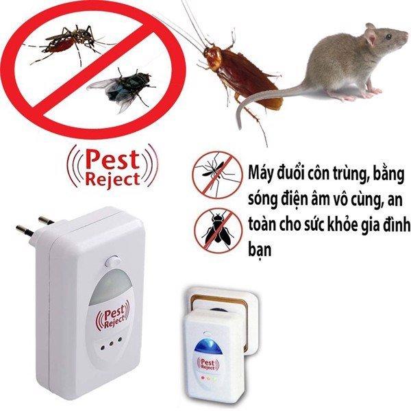Máy Đuổi Chuột Thông Minh,máy đuổi côn trùng bằng sóng siêu âm pest reject,sản phẩm chât lượng an toan cho sức khỏe gia đình bạn. BH uy tín lỗi 1 đổi 1 trên toàn quốc.