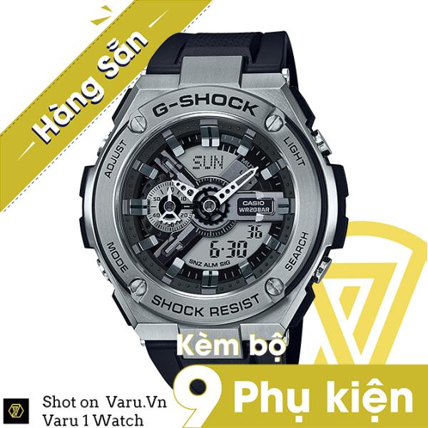 [Cao Cấp] Đồng hồ thể thao nam nữ G-Shock GST-410-1A Full phụ kiện bán chạy