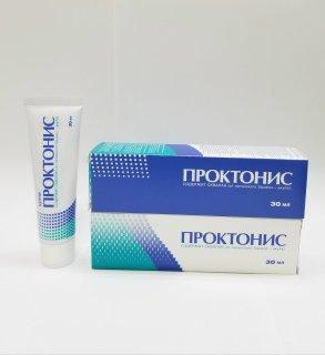 Teo búi trĩ - chống viêm - Kem bôi trĩ Proktonis - Nga 30ml thumbnail