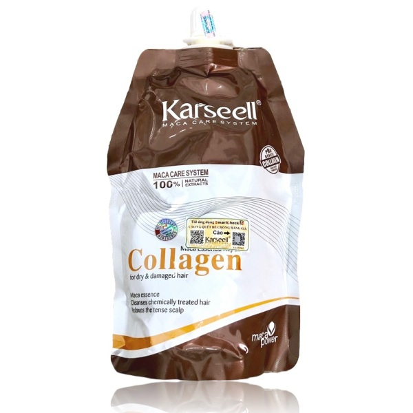 Dầu ủ tóc Collagen Karseell Maca siêu mềm mượt cho tóc khô hư tổn 500ml giá rẻ