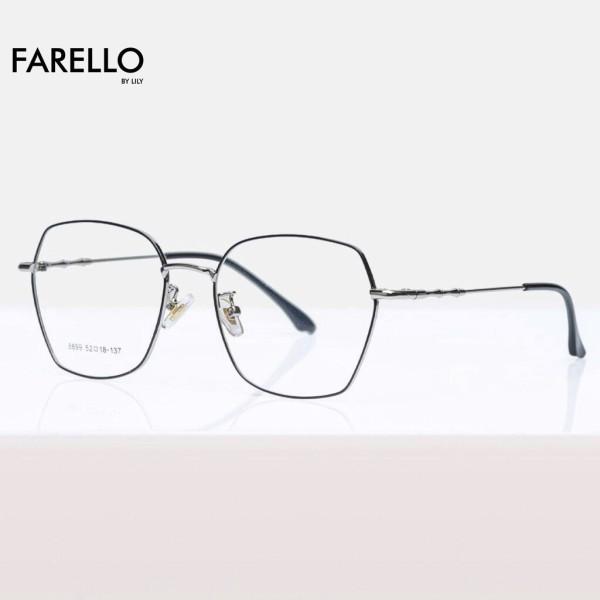 Giá bán Gọng kính cận FARELLO chất liệu kim loại phụ kiện thời trang nam nữ 8899 nhiều màu