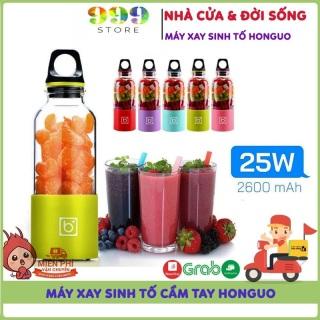 Máy xay sinh tố bingo juicer cup 500ml cầm tay sạc pin siêu tiện dụng cho bạn và gia đình thumbnail