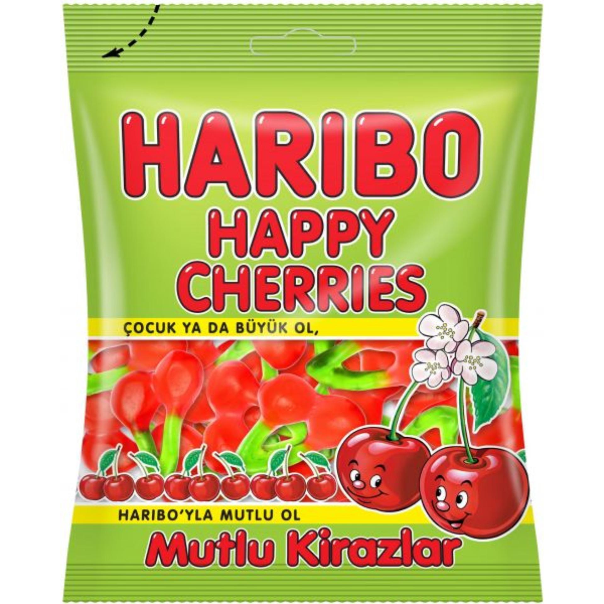 Kẹo dẻo Haribo Happy Cherries 80gr