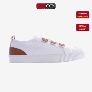 Giày Sneaker Dincox Coxshoes Chính Hãng E01 White, giày vải thể thao, giày Nữ Dincox, Giày thể thao đế bằng, giày độn chiều cao, giày vải, giày hottrend 2021, Giày đi chơi, giày chạy thể thao. thumbnail