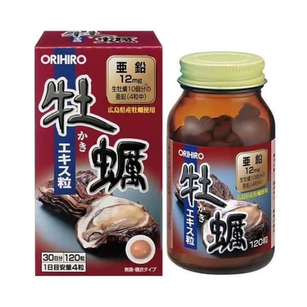 VIÊN UỐNG TINH CHẤT HÀU TƯƠI ORIHIRO 120 viên nhập khẩu