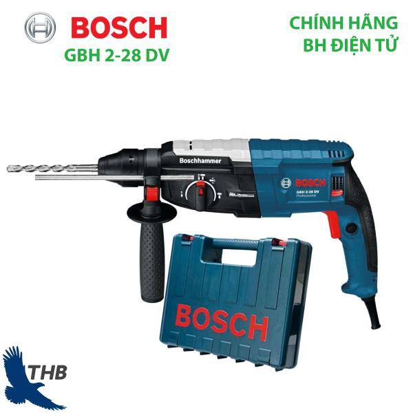 Máy khoan búa Máy khoan đục bê tông Bosch GBH 2-28 DV Chống rung Công suất 850W