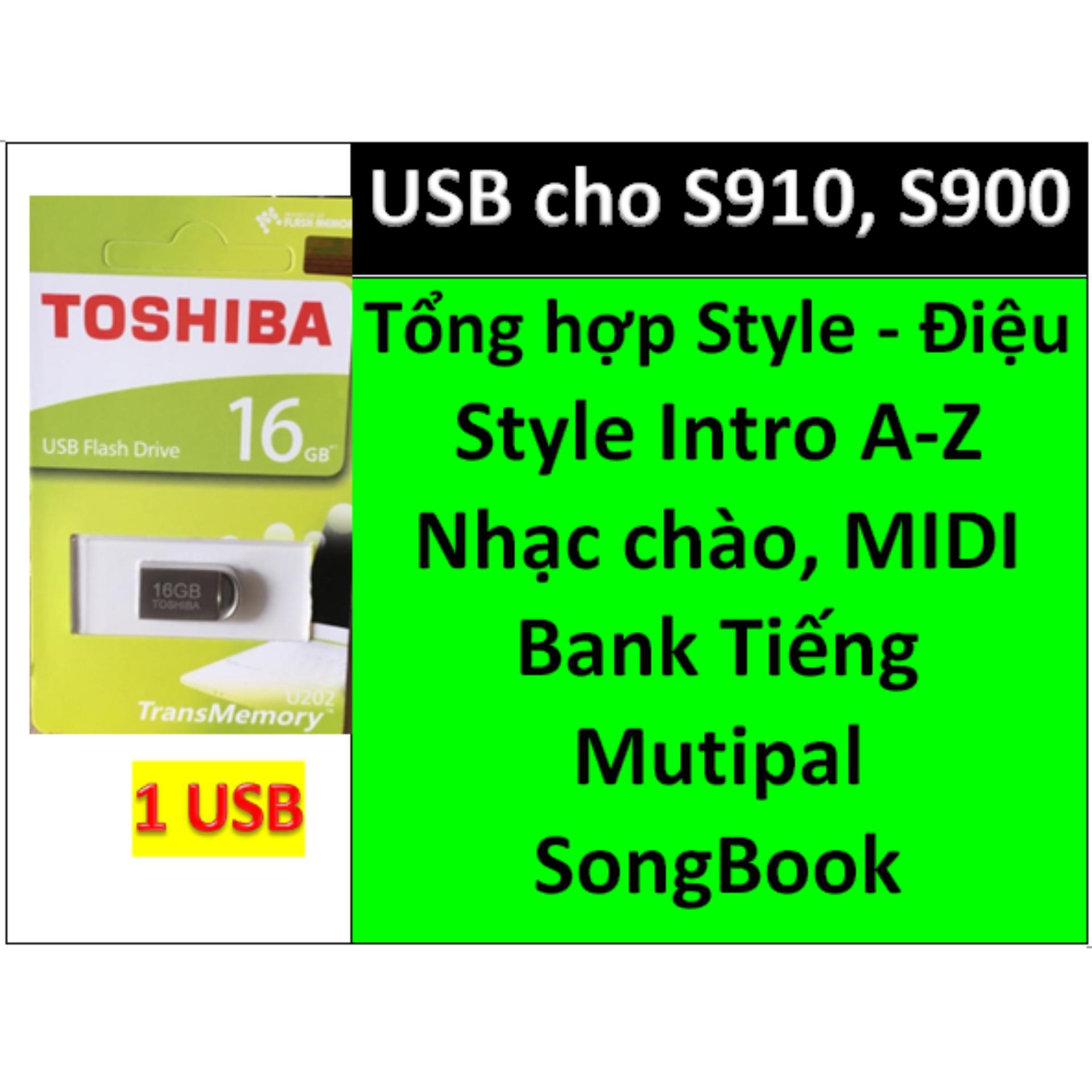 USB mini cho đàn organ yamaha PSR-S900 và S910 Style, nhạc chào, songbook, midi + Full dữ liệu làm show