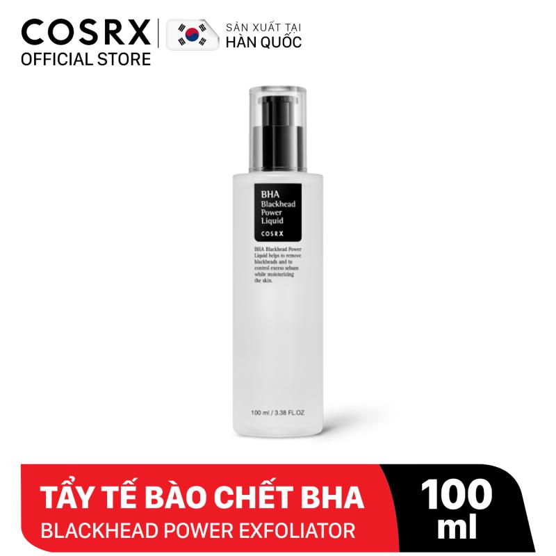 Dung Dịch Tẩy Tế Bào Chết Hoá Học COSRX BHA Blackhead Power Liquid Exfoliator 100ml giá rẻ