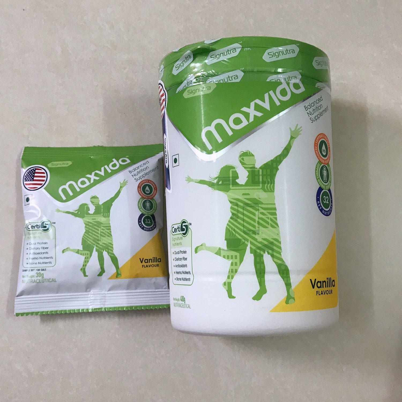 Sữa Dinh Dưỡng MAXVIDA hộp 400g (Kèm quà tặng Gói 30g)