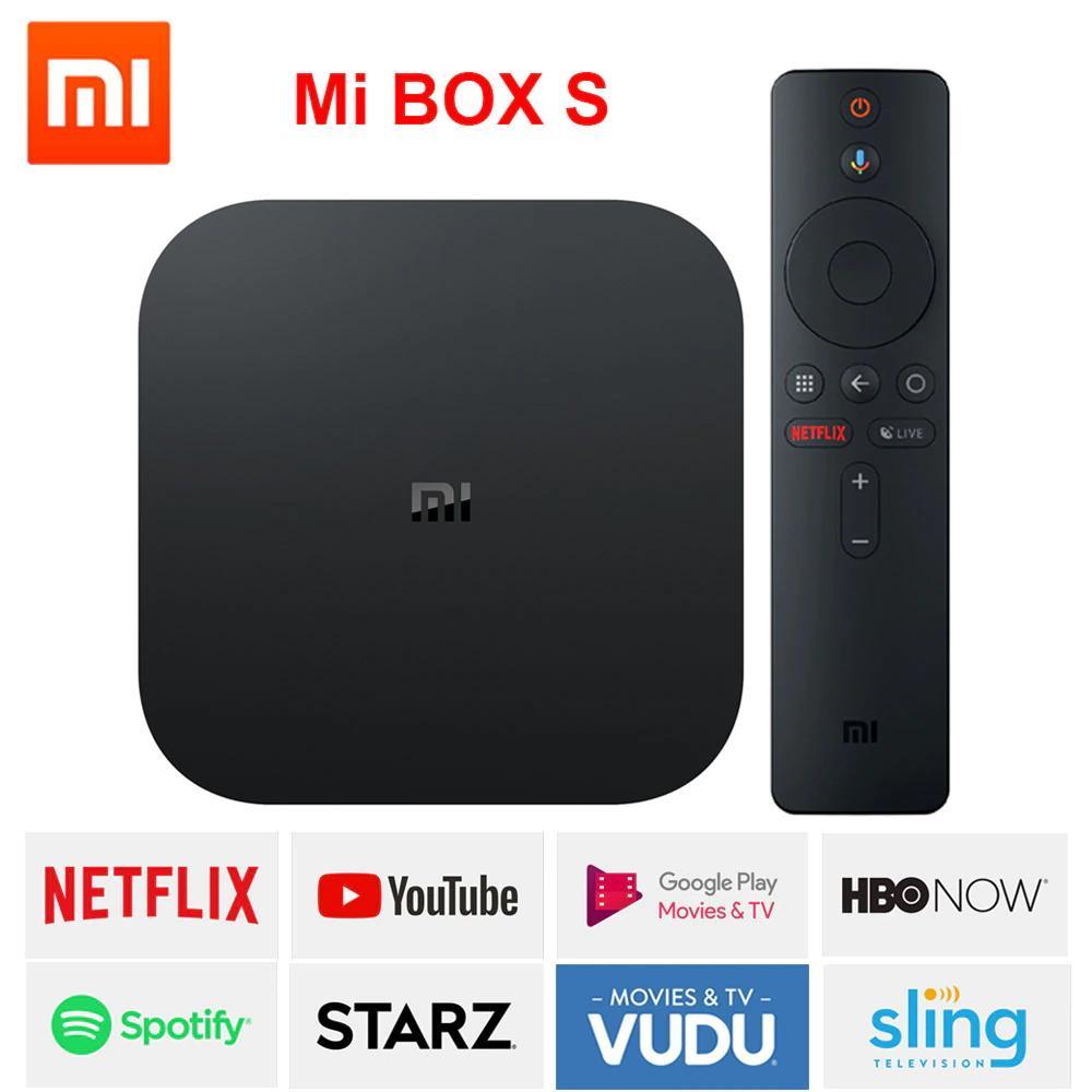 Bảng giá Android TV Box Xiaomi Mibox S 4K, RAM 2GB, Bộ nhớ 8GB Kết nối Wifi, Bluetooth 4.2 HDMI 2.0, Điều khiển bằng giọng nói - Phiên Bản Quốc Tế - Bảo hành 6 tháng