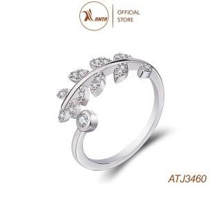 Nhẫn bạc 925 hình lá ô lưu thời trang cho nữ ANTA Jewelry - ATJ3460 thumbnail