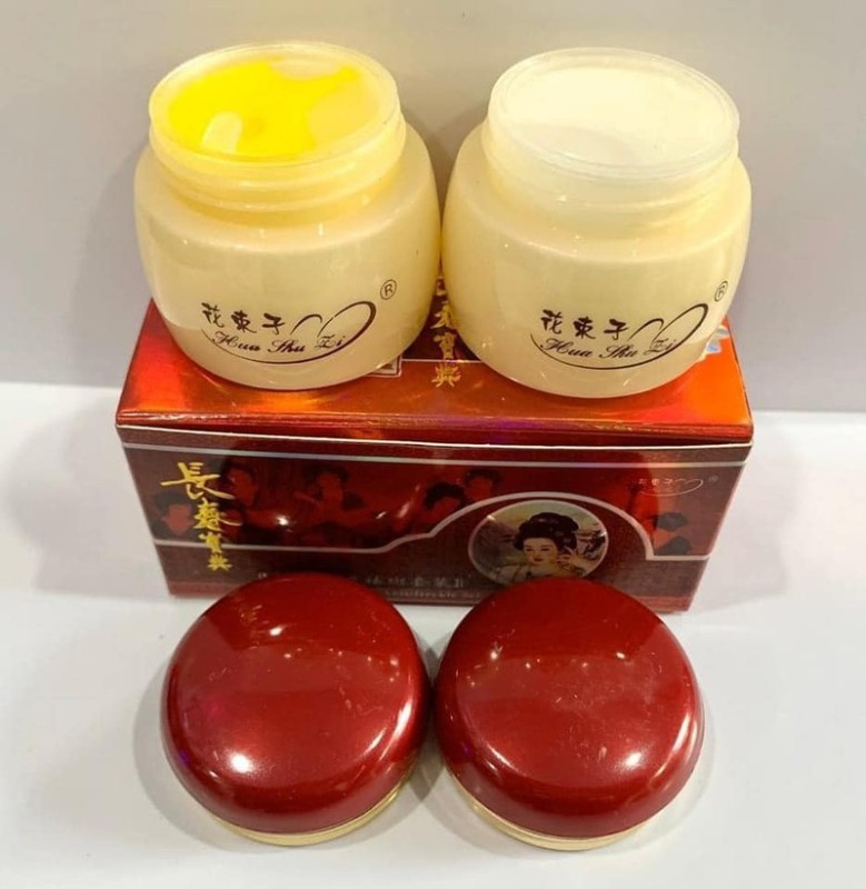 Bộ kem Huas huli cô tiên đỏ ngày và đêm dành cho da nám tàn nhang giá rẻ