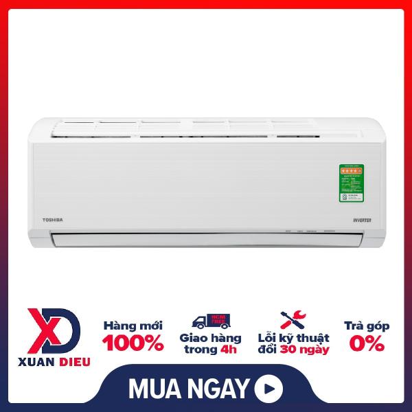 Máy lạnh Toshiba Inverter 1 HP RAS-H10D2KCVG-V .Tiện ích: Hẹn giờ tắt Chế độ chỉ sử dụng quạt - không làm lạnh Chức năng hút ẩm Làm lạnh nhanh tức thì Tự khởi động lại khi có điện Chức năng tự làm sạch
