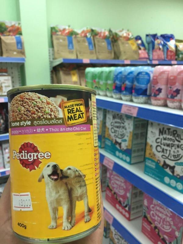 Thức ăn cho chó dạng lon Pedigree Puppy 400gr