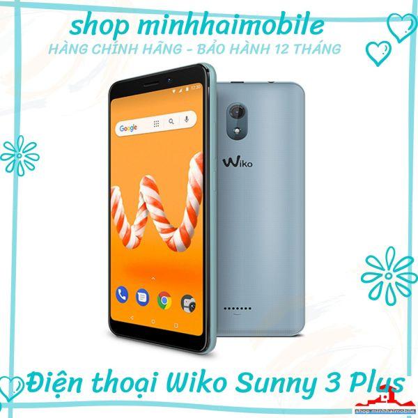 Điện thoại Wiko Sunny 3 Plus | 5.45 Inch 18:9 ,  Hệ điều hành Android v8.1 | Hàng chính hãng bảo hành 12 tháng