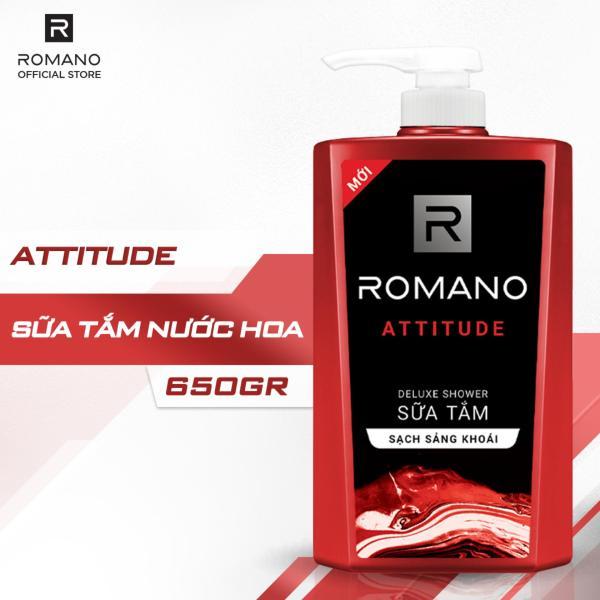 Sữa tắm Romano Attitude nồng ấm cá tính sạch sảng khoái 650gr tốt nhất