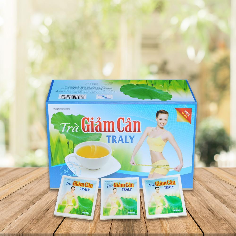 Trà Thảo DượcTraly - Giảm cân tan mỡ hiệu quả nhập khẩu