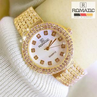 Đồng hồ nữ ROMATIC Mặt Xà Cừ Nhỏ Xinh Sang Trọng - Máy Nhật cao cấp - Tặng Kèm Pin ĐH Dự Phòng thumbnail