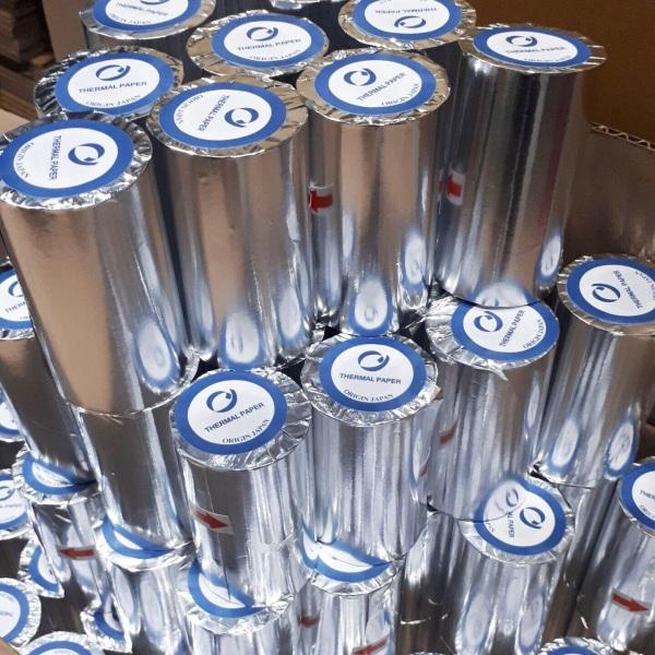 Mua Combo 100 cuộn giấy in nhiệt, giấy in bill, giấy in hoá đơn K80 ( 80x45mm)
