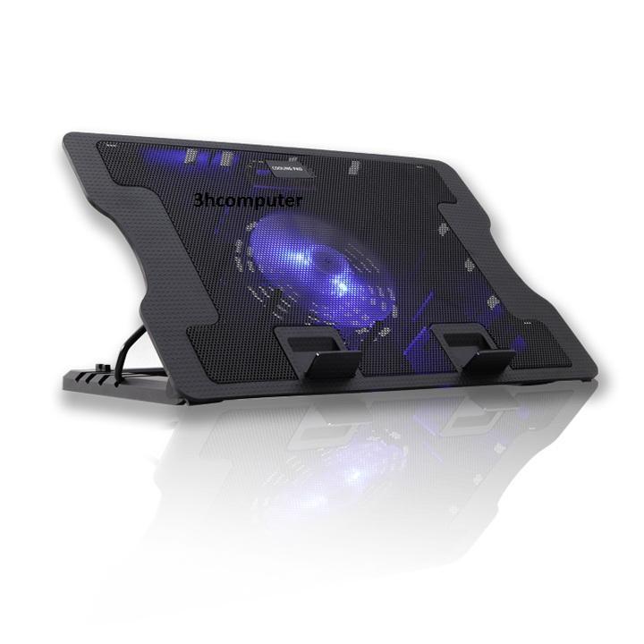 Đế tản nhiệt Laptop CoolingPad N88+ Tặng kèm tấm lót bàn phím 14 IN