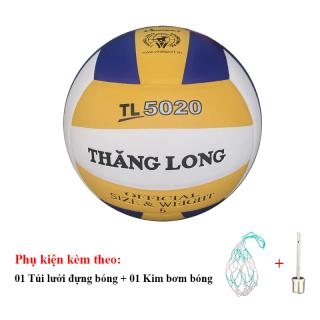 Bóng Chuyền Da Thăng Long 5020 + Túi Lưới Đựng Bóng + Kim Bơm Bóng thumbnail