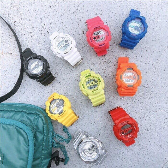 Nơi bán (Tặng kèm hộp) Đồng hồ thể thao nam nữ SHHORS dây silicon