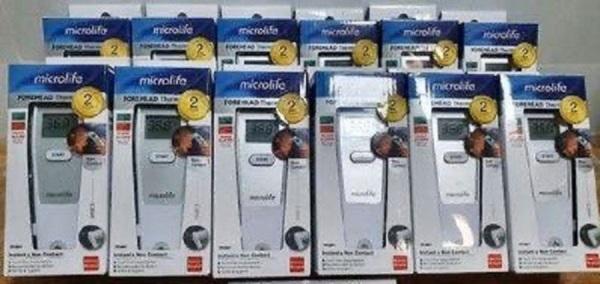 Combo 10 Nhiệt kế hồng ngoại đo trán Microlife (Thụy Sỹ) bán chạy