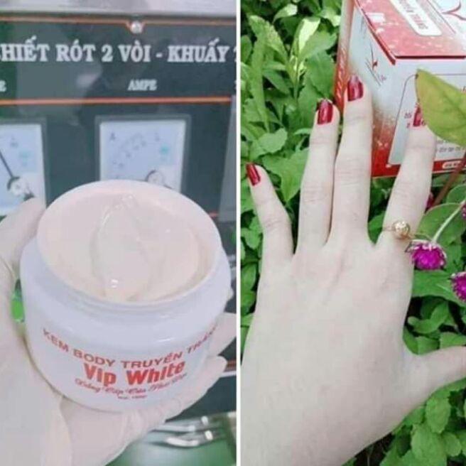 vip White kem trắng toàn thân trtr