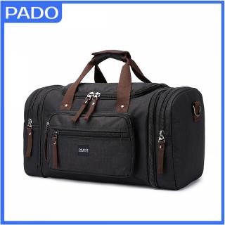 Túi xách du lịch cỡ lớn vảu bố vân xước PADO P479D có thể mở rộng thêm 2 bên hông, túi xách du lịch size lớn thumbnail