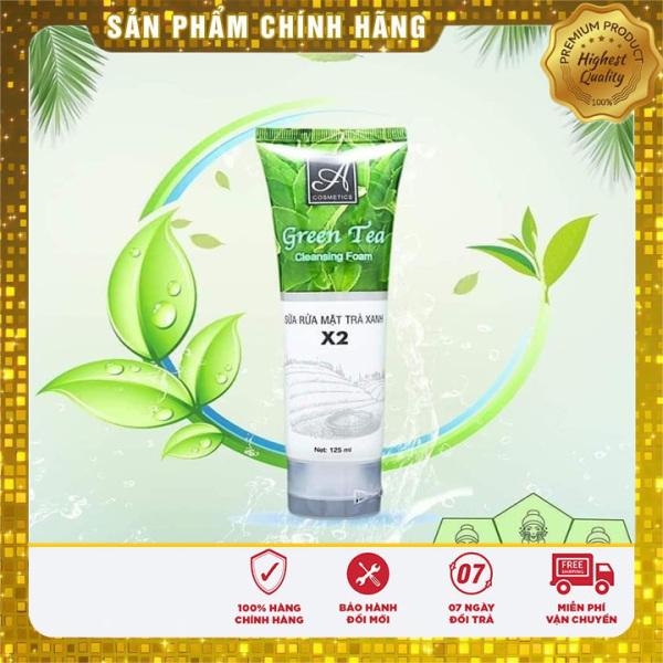 [Chính Hãng] sữa rửa mặt trà xanh x2 A cosmetics Phương Anh