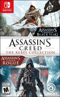 Đĩa game Nintendo Switch Assassins creed the rebel collection thumbnail