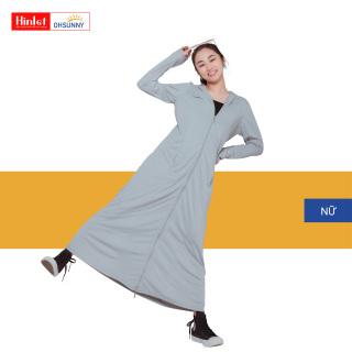 Áo Khoác Chống Nắng Nữ Toàn Thân OHSUNNY Longform Extra UPF50+++ SLTW1M036F Hinlet, áo chống nắng toàn thân nữ, tích hợp thêm khẩu trang che chắn phần mặt thumbnail