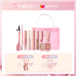 PINKFLASH The Hottest Beauty Makeup Set (buy 1 gift 1 bag) Cosmetic Bags thumbnail