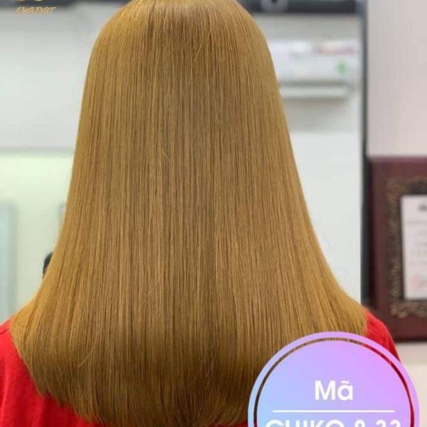 Thuốc nhuộm tóc màu Vàng Cát + kèm oxi cao cấp