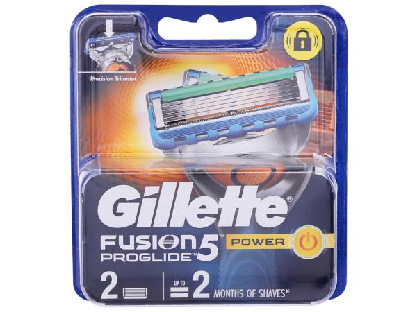 [Siêu thị VinMart] -  Lưỡi dao cạo Gillette Fusion Blue Plus 5 + 1