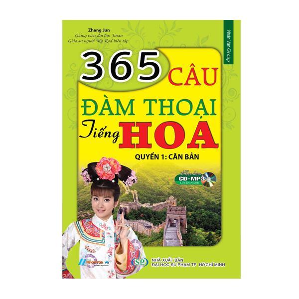 Mua 365 Câu Đàm Thoại Tiếng Hoa (Quyển 1: Căn Bản) - 8935072922955
