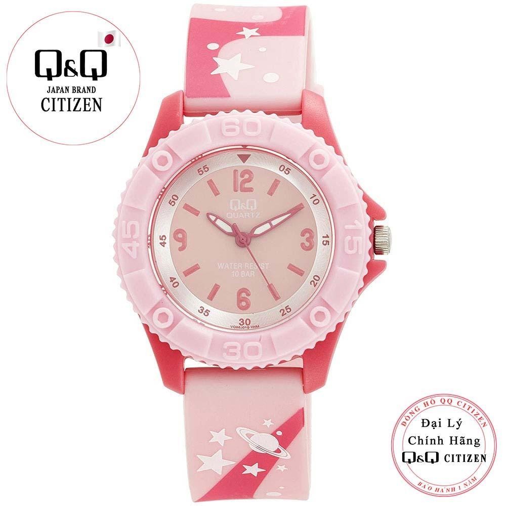 Giá bán Đồng hồ trẻ em Q&Q Citizen VQ96J019Y dây nhựa thương hiệu Nhật Bản