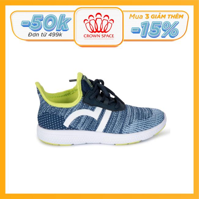 Giày Thể Thao Bé Trai Bé Gái Đi Học Crown Space UK Giày Sneaker Cho Bé Từ 2 đến 14 Tuổi Size 28 đến 35 Đi Siêu Nhẹ Êm Chân Thoáng Khí Chống Trơn Trượt CRUK8022 giá rẻ
