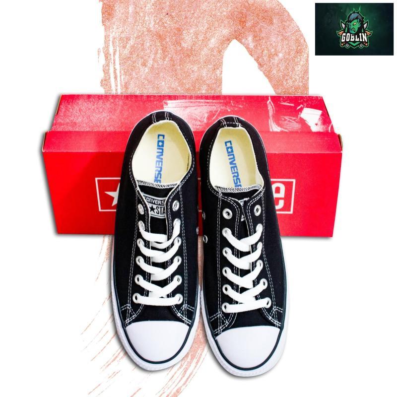 [Có Hộp+tặng Vớ] Giày CONVERSE_CLASSIC nam chuẩn Hàng SuperF (Đen)