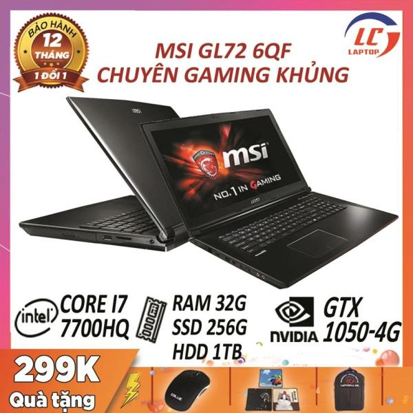 Bảng giá MSI GV72 7RD likenew còn bh hãng ( i7-7700HQ, ram 8G, HDD 1Tb, VGA Nvidia GTX 1050-4G, 17.3  FullHD ) Phong Vũ