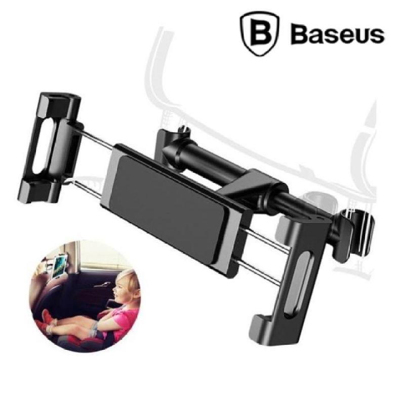 Giá đỡ điện thoại, ipad, máy tính bảng thương hiệu Baseus cài ghế sau ô tô SUHZ-01