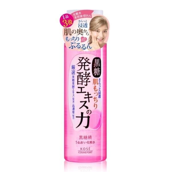 Nước Hoa Hồng Kose dưỡng ẩm tinh chất đường đen 3 Trong 1 (180ml) giá rẻ